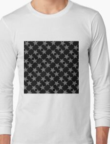 GREY STARS-2 Long Sleeve T-Shirt