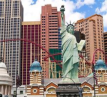 The Statue of Liberty In Vegas by Memaa