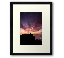 Dunnottar Castle Sunrise. Framed Print