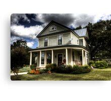 Johnson City Home Canvas Print