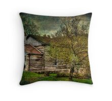 CHURCH WITH TEXTURE Throw Pillow