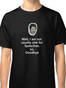 Speeches Classic T-Shirt