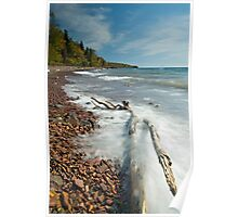 Lake Movement, Lake Superior. Poster