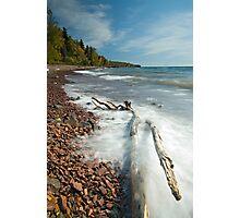 Lake Movement, Lake Superior. Photographic Print