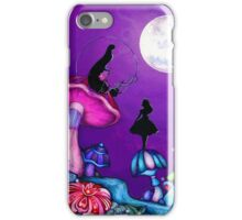 Alice in Wonderland and Caterpillar iPhone Case/Skin