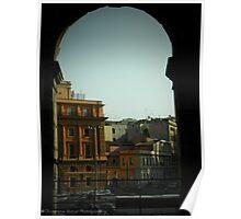 Rome - peekaboo Poster