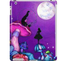 Alice in Wonderland and Caterpillar iPad Case/Skin