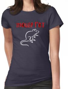 Mouse Rat Womens Fitted T-Shirt