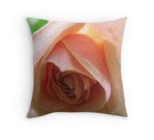 Voluptuous Rose Throw Pillow