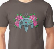 Retro Girl Gaming Unisex T-Shirt