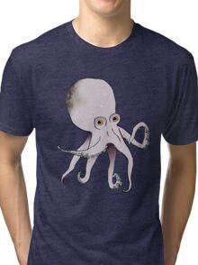 Octopus. Tri-blend T-Shirt