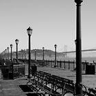 One of the piers in San Francisco by Sebastian Warnes