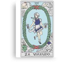 Za Warudo Canvas Print