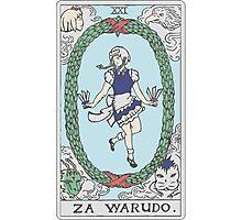 Za Warudo Photographic Print
