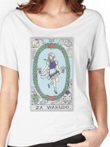 Za Warudo Women's Relaxed Fit T-Shirt