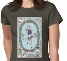 Za Warudo Womens Fitted T-Shirt