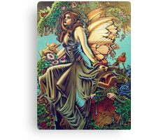 Titania and Puck Canvas Print