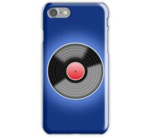 Long Player Record iPhone Case/Skin