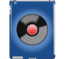 Long Player Record iPad Case/Skin