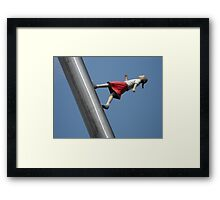 """""""Walking to the Sky"""" at Nasher Sculpture Center Framed Print"""