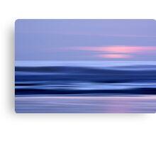 Ocean in Motion #4 Canvas Print