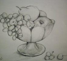 Bowl a' Fruit by ripinamberlost