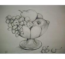 Bowl a' Fruit Photographic Print