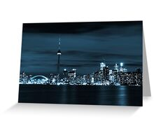 Toronto Skyline Greeting Card