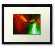 Yin  &  Yang Framed Print