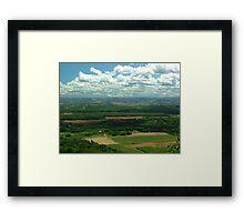 Annapolis Valey Framed Print