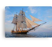 "The Brig Niagara ""Starboard Bow""  Canvas Print"