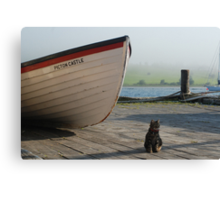 Chibley on the dock Canvas Print