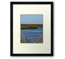 Earth, Wind, And Water Framed Print
