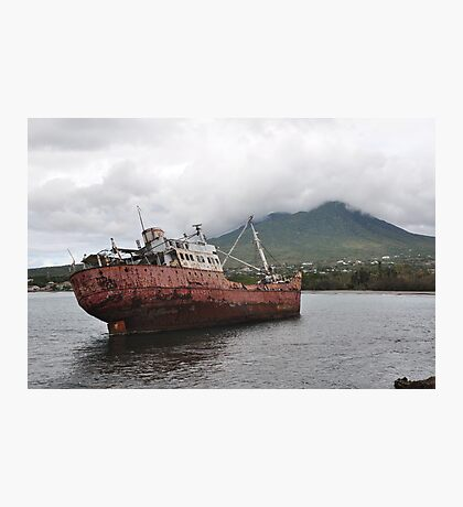 """Shipwreck"" Photographic Print"