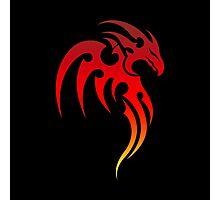 Rising Phoenix Tribal Symbol Photographic Print