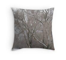 Snow Blanket - Niagara-on-the-Lake, Ontario Throw Pillow