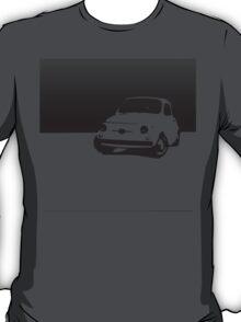 Fiat 500, 1959 - Black on white T-Shirt