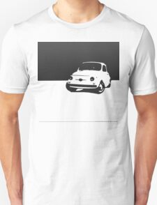 Fiat 500, 1959 - Black on white T-Shirt