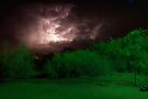 New Mexico Night Storm by Larry3