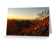Dusk in the Southwest Greeting Card