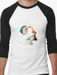 Betty McRae Men's Baseball ¾ T-Shirt