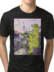 The Mushroom Man Tri-blend T-Shirt