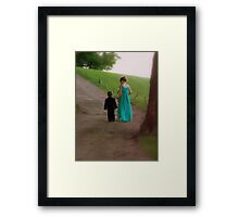 All Decked Out!  Framed Print