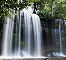 Russell Falls different angle by Moorey