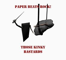 Paper Beats Rock Unisex T-Shirt