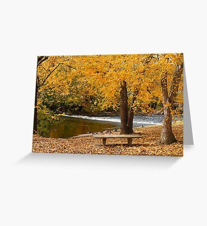 Red Cedar Autumn (Art Card) Greeting Card
