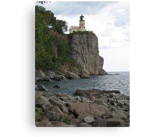 The Light on the Mountain - Split Rock Lighthouse, Minnesota Canvas Print