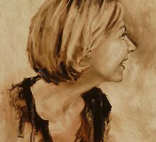 Fiona - lovely laughing side by Mick Kupresanin