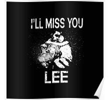 walking dead: Lee & clem Poster