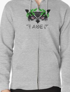 Athena's Owl II - Green Variant T-Shirt